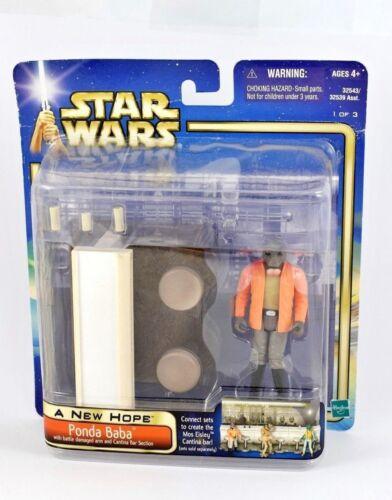 BLU Star Wars Saga 2002 cardati personaggio confezioni-MOC-vedi foto