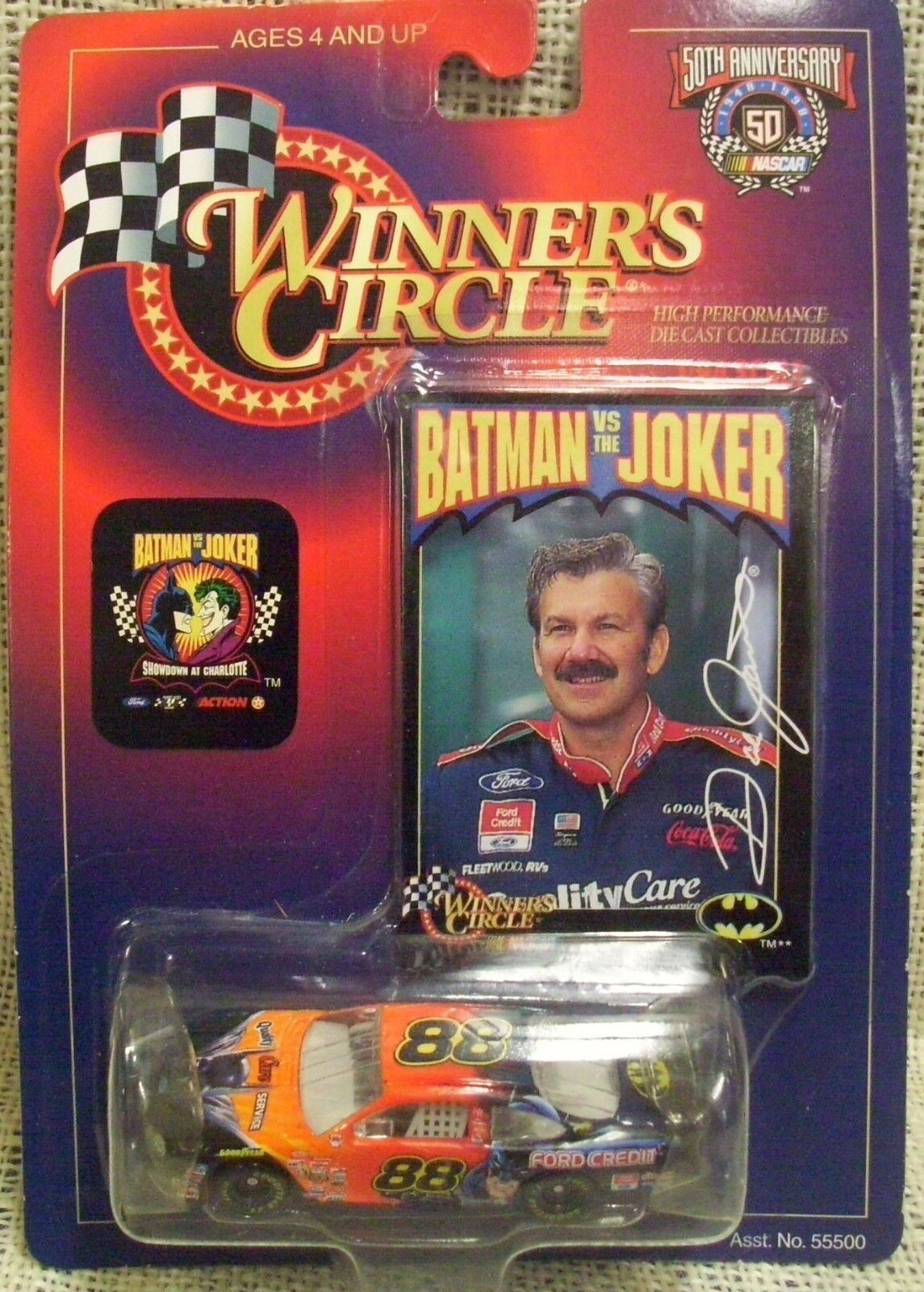 1997-2000 WINNERS CIRCLE 7 CAR CAR CAR LOT NASCAR Diecast 1 64 239e05