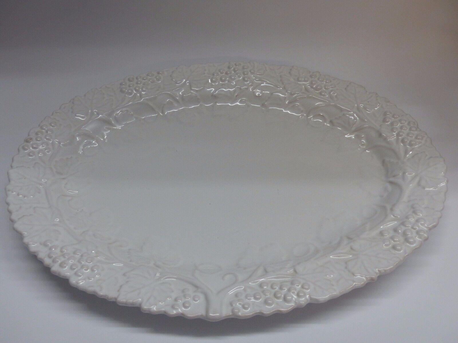 Lambert Schale     Platte Uni Weiß oval 45 cm 8b5682