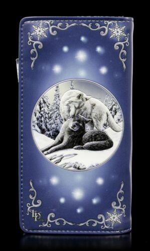 geprägt Snow Kisses Geldbörse mit Wölfen Lisa Parker Hund Portemonnaie