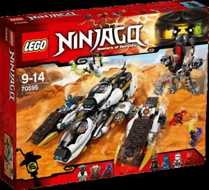 LEGO-NINJAGO-70595-Ultra-Tarnkappen-Fahrzeug-NEU-OVP