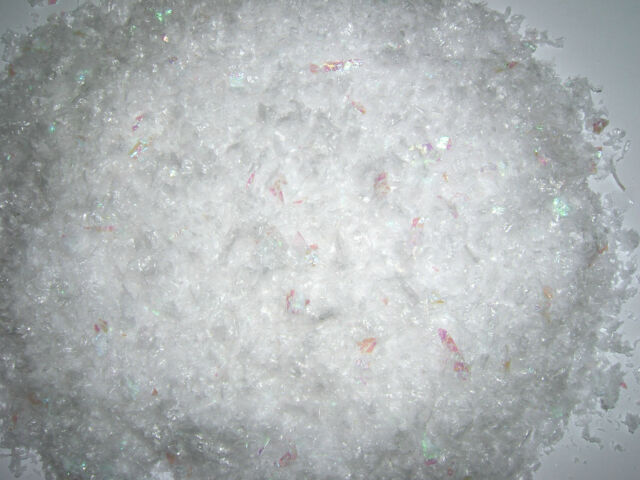 25g Artificial Snow Iridescent Table Confetti Christmas Tree Nativity Window