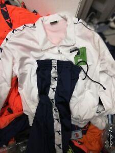 Diadora Survetement In Small Med Ou X/l Homme En Blanc/bleu Marine Polyester à 25 £-afficher Le Titre D'origine Gagner Une Grande Admiration