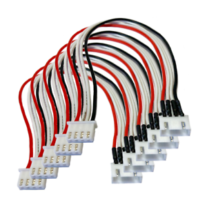 2s-3s-4s-5s-6s-balanceador-JST-xh-alargador-cable-cargador-Lipo-bateria-30cm-24awg