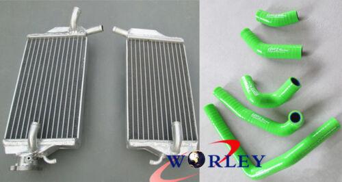 aluminum radiator/&silicone hose FOR Honda CR250R CR 250 2-STROKE 2002 2003 2004