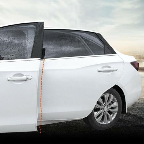 4M Car Door Edge Guards U Shape Edge Trim Rubber Seal Protector Anti-Collision