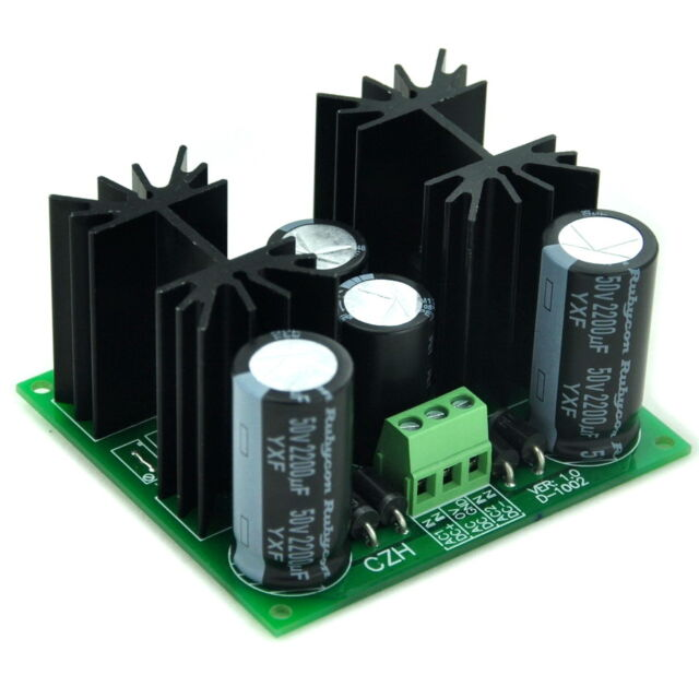 Positive and Negative +/-15V DC Voltage Regulator Module Board, High Quality.