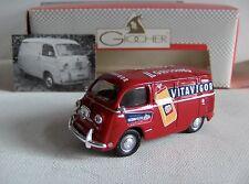 GIOCHER Fiat 600 VITAVIGOR    1/43