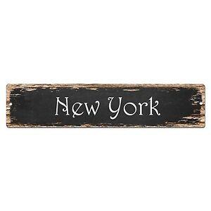 SP0007-New-York-Street-Sign-Bar-Store-Shop-Pub-Cafe-Home-Chic-Decor