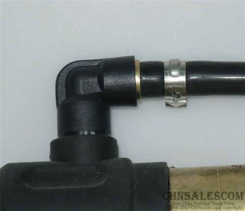 """Simple Type TIG Welding Torch Cable Joint Change 35-50mm to 7//8/""""-14 Female"""