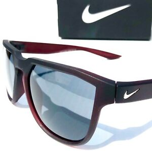 65a537fc19c0e Details about NEW* NIKE FLY SWIFT Matte Red Black w FLASH Grey Sunglass  EV0926 600