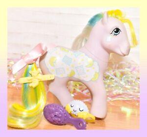 My-Little-Pony-MLP-G1-Vtg-Twice-as-Fancy-TAF-Pillow-Talk-Slumber-Party