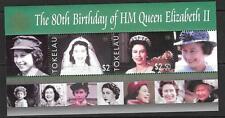 TOKELAU ISLANDS SGMS378 2006 80th BIRTHDAY OF QUEEN ELIZABETH MNH