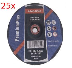 25-x-Trennscheibe-150x3-0x22-23-Stahl-Metalltrennscheibe-Flexscheibe-gekroepft