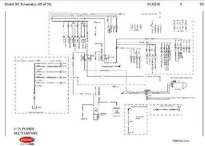 before oct 15 2001 peterbilt 387 complete wiring diagram schematic rh ebay com peterbilt 389 wiring diagram pin 48 2010 peterbilt 387 wiring diagram