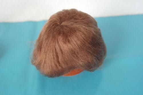 Puppen & Zubehör 1x Mohairperücke kurz kastanienbraun KU 26-29 cm handgeknüpft Mohair Trese NEU C