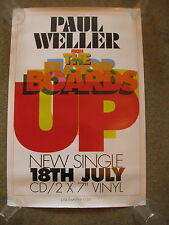 Paul Weller - From the Floorboards Up -  PROMO POSTER