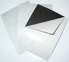 """Outdoor/Indoor Acrylic Adhesive 8.5"""" x 11"""" 60 mil Magnet Sheets - 5 Pack"""