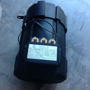 Image Is Loading Vctech 2898 Rpm 3 Phase Induction Ac Motor