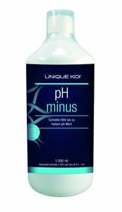 UNIQUE-Koi-PH-MINUS-5000-ml-Tamano-del-Estanque-50000L-Disminuye-el-ph-5-L