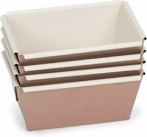Patisse Mini Ceramic Non Stick Coating Baking Loaf Pans
