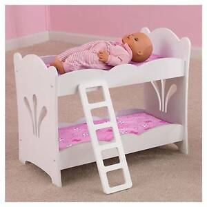 Kidkraft Lil Doll Bunk Bed Ebay