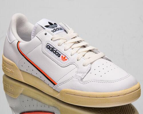 Adidas Originals Continental 80 Hombre Blanco Negro Naranja Lifestyle Zapatillas