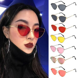 5a2f21328f1f2 Image is loading Women-Ladies-Cat-Eye-Sunglasses-Retro-Vintage-Style-