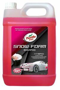 Turtle Wax 53141 Hybrid Snow Foam Shampoo Wax Sealant Protection 2.5L Bubble Gum