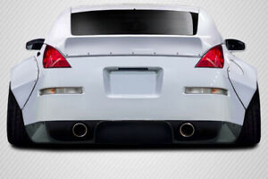 FOR 03-08 Nissan 350Z Z33 Carbon Fiber RBS Rear Diffuser 3pc 113547