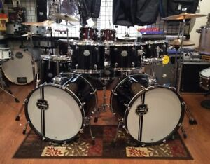 Image Is Loading Mapex Voyager 7 Piece Double Bass Drum Set