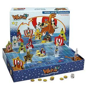 Wickie-Brettspiel-Wickie-und-der-Piratenschatz-Neu-Ovp