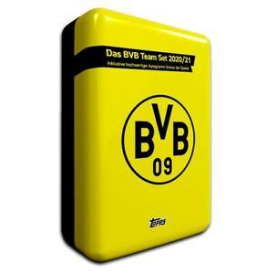 Topps-Borussia-Dortmund-Team-Set-Mega-Tin-2020-201-25-Autograph-Cards-BVB-20-21