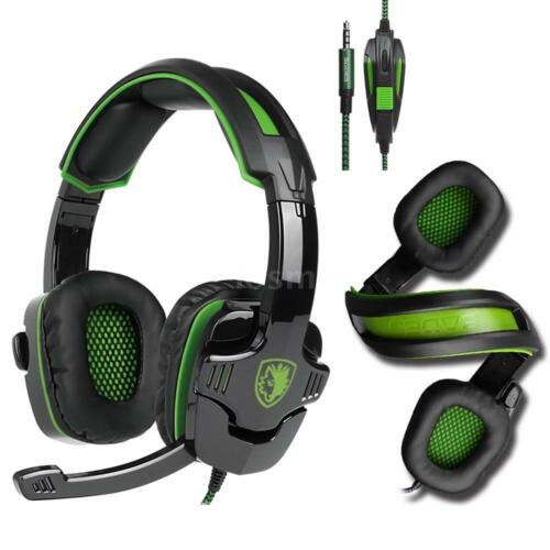 3.5mm Gaming Headset Noise Cancellation Music Headphone MIC for PS4 Xbox One