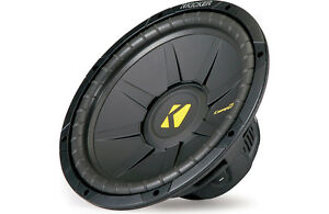 "CLEARANCE!!! Kicker 40CWS122 CompS Series 12"" 2-ohm Subwoofer. Limited Quantity."