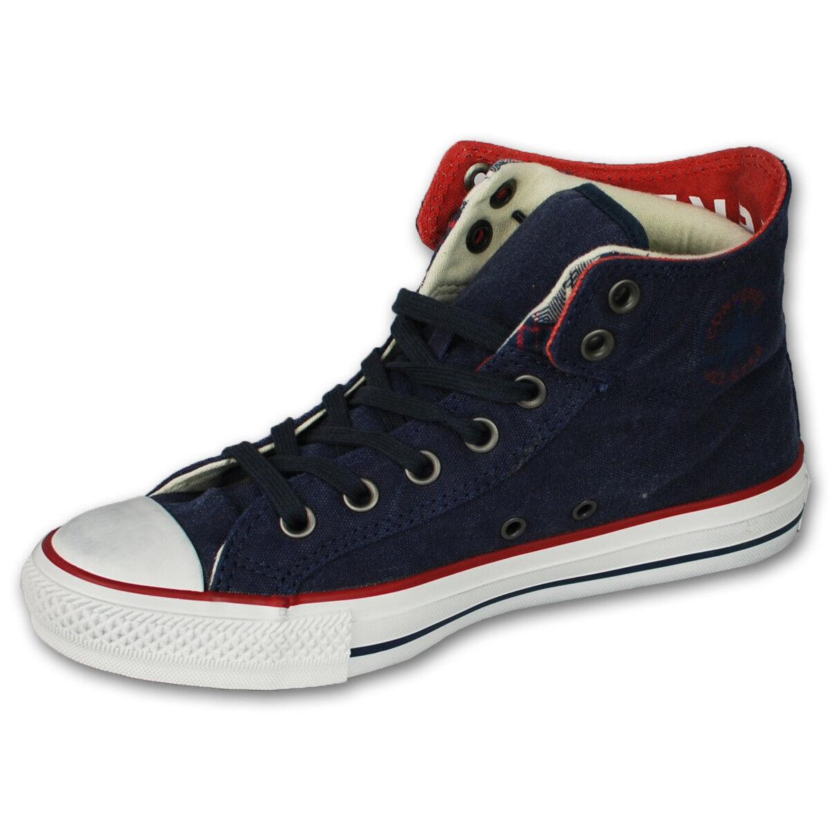 Da Uomo Pompe Tela Scarpe da ginnastica CONVERSE ALL STAR Scarpa Casual Sneaker Lacci Scarpe classiche da uomo