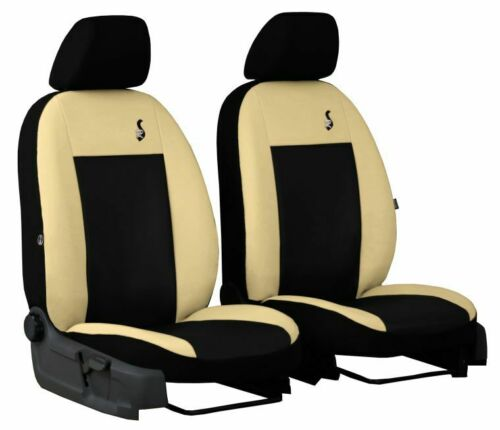 Eco-Leather Tailored Front Seat Covers for FORD FIESTA Mk7 5 door  2008-2017