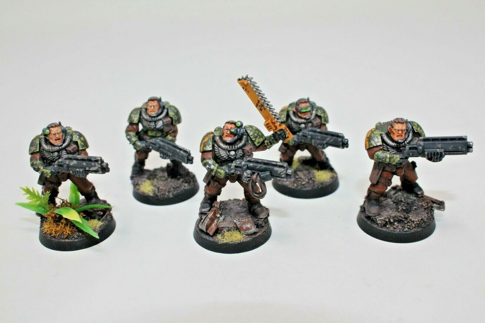 Warhammer Space Marines Scouts Well Painted - JYS32