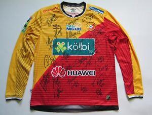 c94f0a583 Club Sport CS Herediano Costa Rica UMBRO shirt jersey AUTOGRAPHS ...
