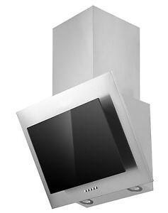 respekta dunstabzugshaube schr ghaube kopffrei edelstahl glas schwarz 60 cm led ebay. Black Bedroom Furniture Sets. Home Design Ideas