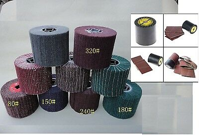burnishing wheel and 28 Belt fits Metabo for burnishing tools expansion roll