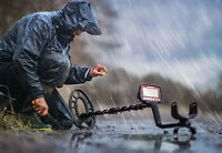 Fisher F44 Weatherproof Metal Detector -Free Ship- 5 Year USA Warranty