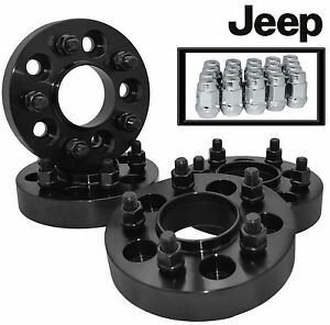 "2 Dodge Durango Jeep Grand Cherokee Hub Centric Wheel Spacers 1.25/"" 5x5 to 5x5"
