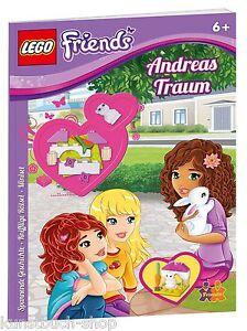 Fachbuch-LEGO-Friends-Andreas-Traum-mit-Minifigur-und-Steinen-NEU-ab-6-J