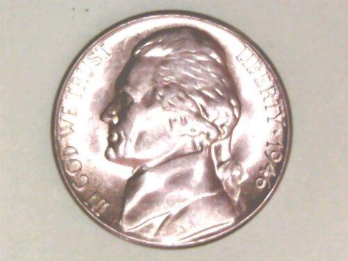 1946S JEFFERSON NICKEL BU