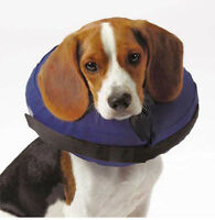 Inflatable Pet Collar Dog E-collar Elizabethan Wound Healing Protection Medical