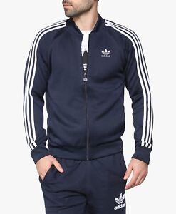 6272fef6067 NEW Men s Adidas Originals Superstar Track Top Jacket Color  Navy ...