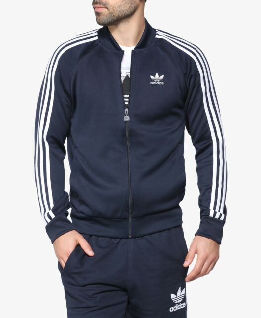 online store 2a02b 832e0 NEW Men s Adidas Originals Superstar Track Top Jacket Color  Navy Size   Medium