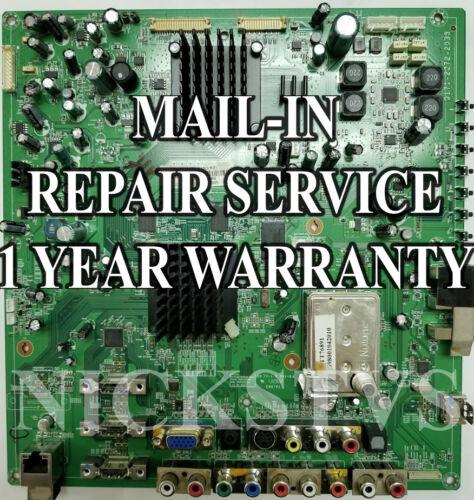 Mail-in Repair Service Vizio SV422XVT Main Board 3642-0812-0150 1 YEAR WARRANTY