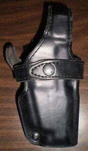 Safariland-070-240-Plain-Leather-Duty-Holster-Fits-Smith-and-Wesson-4046